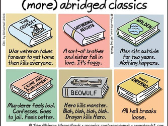Now You Can Discuss the Classics! :)