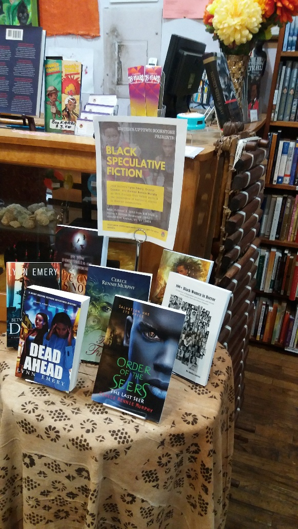 Sister's Uptown bookstore display