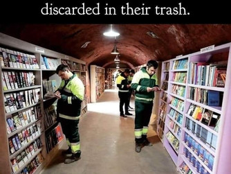 Recycle Books!