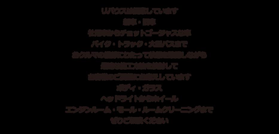 RIVUS 広島 コーティング