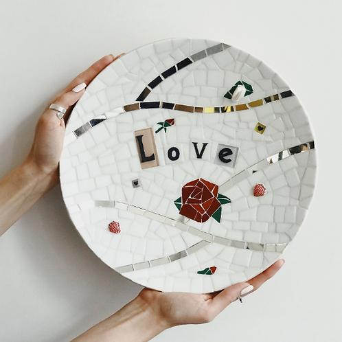 "Тарелка ""Love"", Ø 30 см"