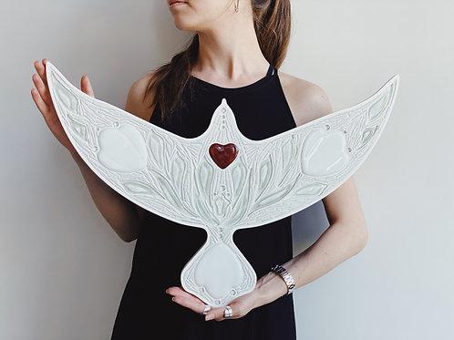 White DoveLove — настінний декор