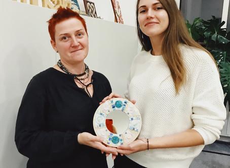Авторский мастер-класс по созданию мозаики для декоративного зеркала «Сны Венеции»
