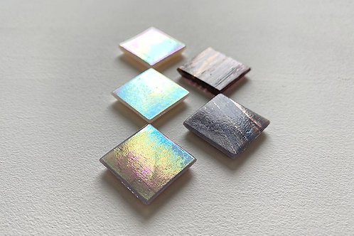 Мозаїка рожеві і бузкові відтінки / перламутр і золото