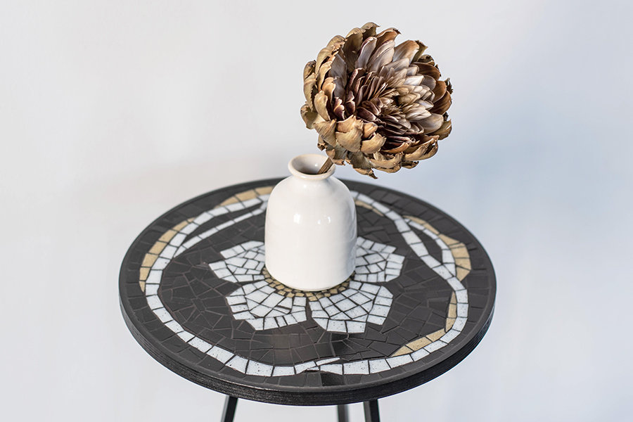 Love Mosaic Table