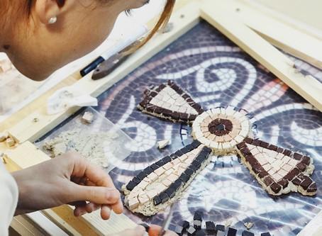 Мозаика из мрамора и смальты / обучение