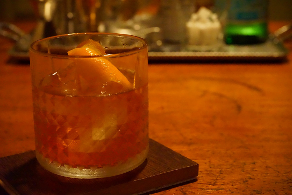 high west double rye old fashioned