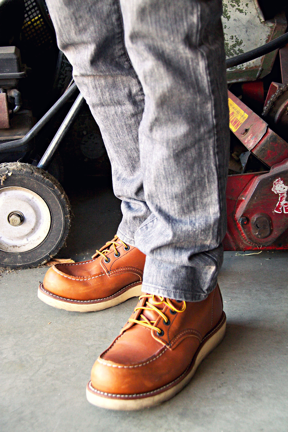 red wing shoes, 10875 6-inch boot, $250