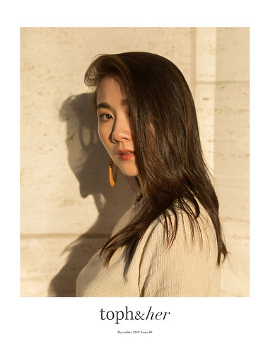 Lisa Chen, Style Voila, topandher December 2019 Issue 06