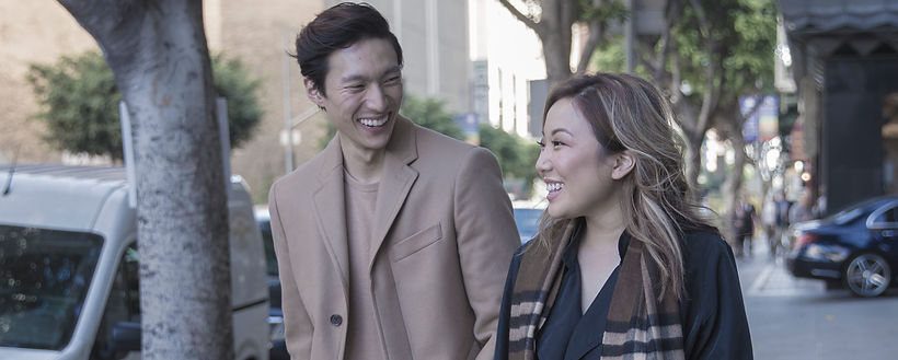 Mary J. Park and Topher Park