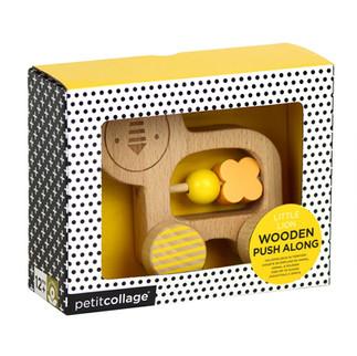PetitCollage Wooden Push Along