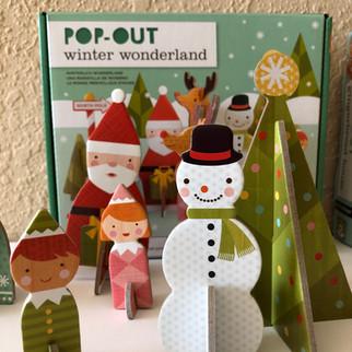PetitCollage Pop-Out Winter Wonderland
