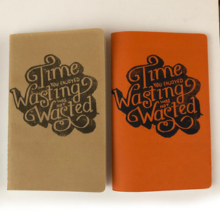 Custom Design, Hand Printed & Hand Stitched Journals by Alex Ruiz