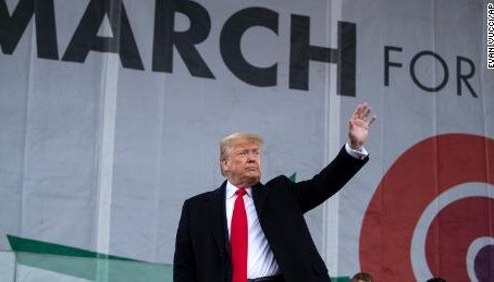 Trump Attended the March for Life, Now he Has to Support the Equal Rights Amendment