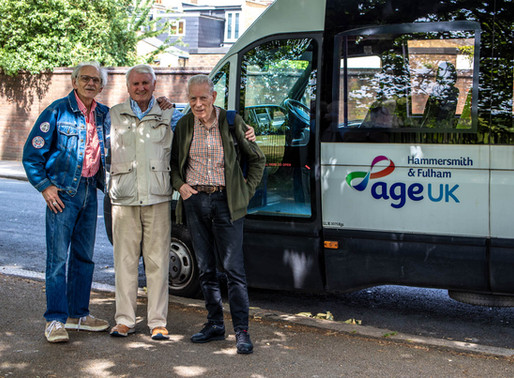 Age UK H&F: Working with the community