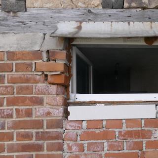 Schaden an einem Fenster