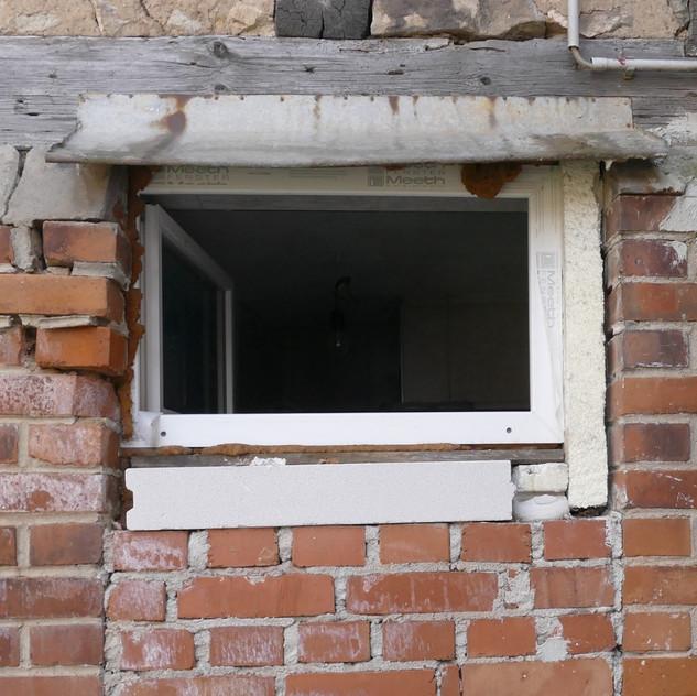 Schäden am Fensterbereich