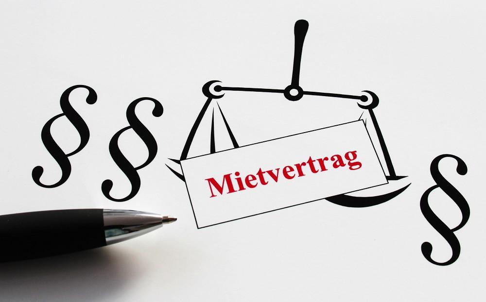 Im Mietvertrag sind Rechte und Pflichten geregelt.