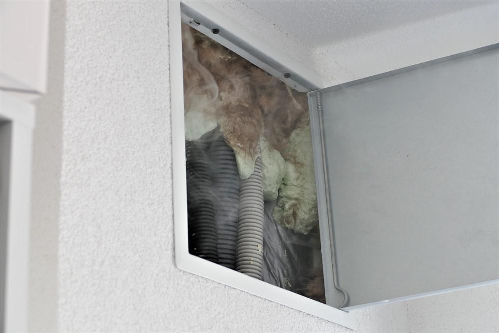 Montageschäume sind zur Sicherstellung der Luftdichtheit ungeeignet