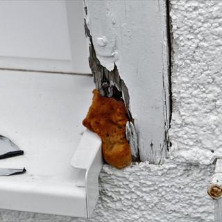 Fehlerhafter Fensteranschluss
