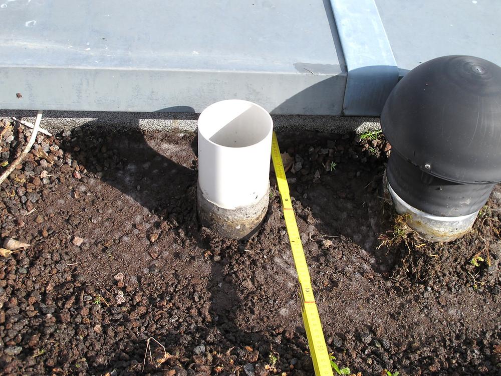 Zwischen einzelnen Rohranschlüssen müssen ausreichende Abstände geplant werden