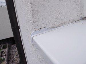 Es lag kein fachgerechter Anschluss des Putzes an die Fensterbankaufkantung vor.