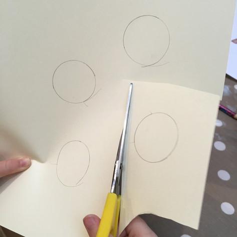 Scissors to develop fine motor skills