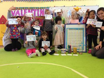 February 2016 in Benjamin Preschools