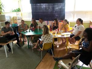 Continuous education of teachers at Benjamin preschool