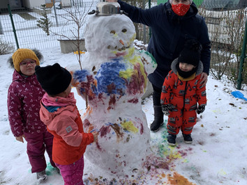 January 2021 in Benjamin Preschool