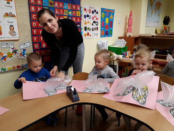 November 2017 in Benjamin Preschool