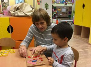 Students' grandparents pay us a visit at Benjamin.