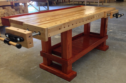The Paul Revere Woodworking Bench 38 X 84