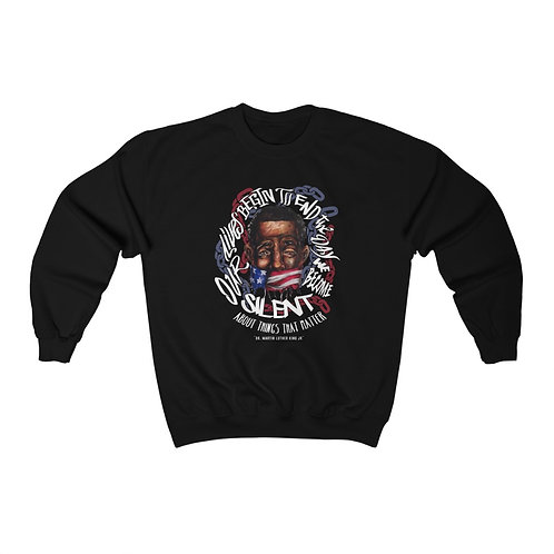 OUR LIVES BEGIN TO END UNISEX CREWNECK SWEATSHIRT