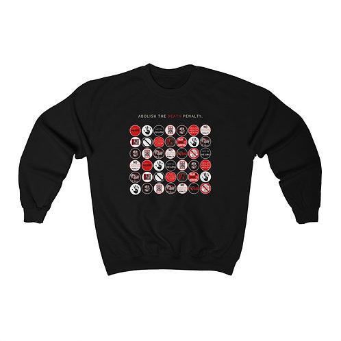 Anti- Stick Print Unisex Crewneck Sweatshirt