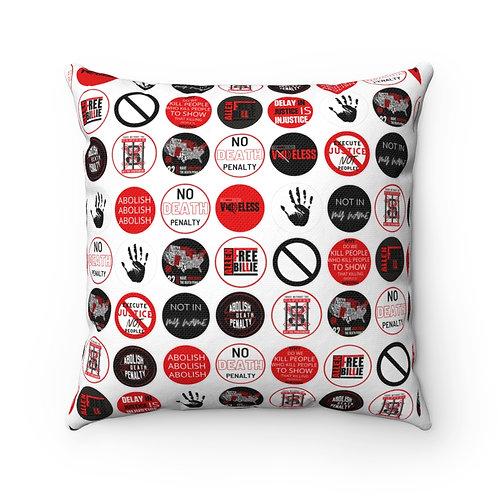 Ant- Sticker Print Pillow Case