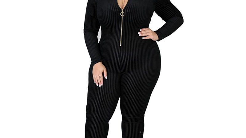 Women Long Sleeve Jumpsuit
