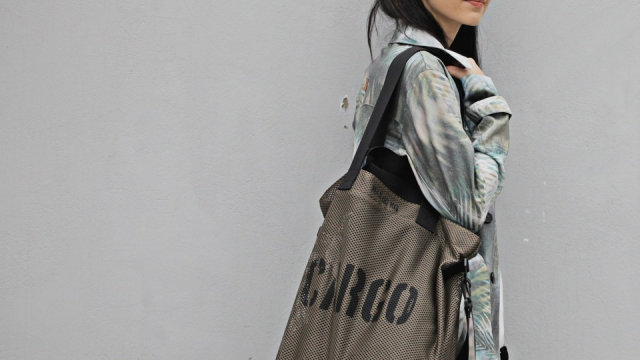 CARGO by OWEE M-Size Bag - OLIVE MESH
