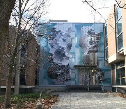 Facade Installation at Princeton SOA