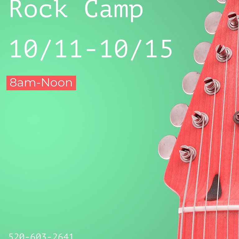 Fall Break Rock Camp (10/11-10/15)