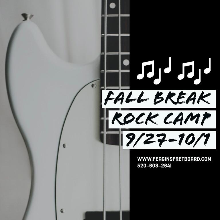 Fall Break Rock Camp (9/27-10/1)