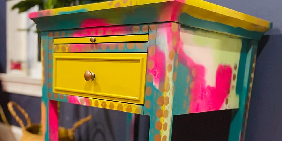 Outdoor Funky Furniture Spray Paint Workshop (7/25)
