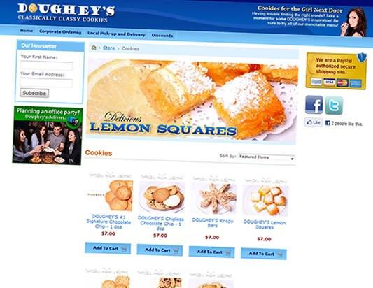 Doughey's Cookies E-Store