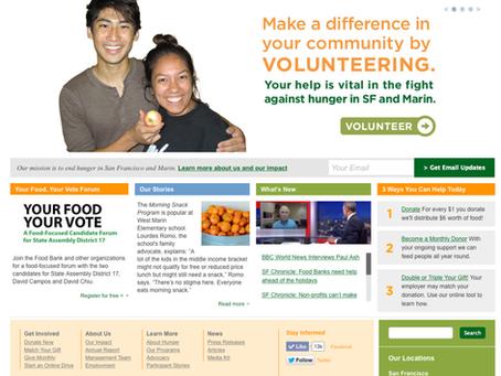 Volunteering at the SF/Marin Food Bank