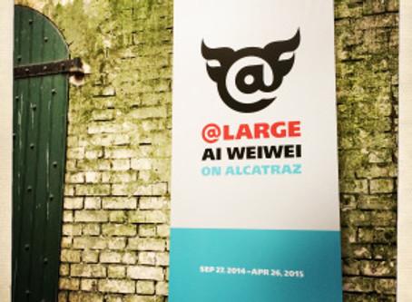 Ai Wei Wei on Alcatraz