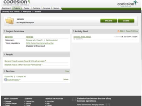 CloudForge Info Architecture