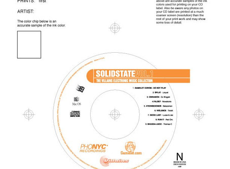 Solidstate Vol.1 CD Face