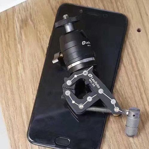 Leofoto MC-30KIT Multipurpose Clamp Kit with Phone Holder - (PC-90, MBH-19, MC-3
