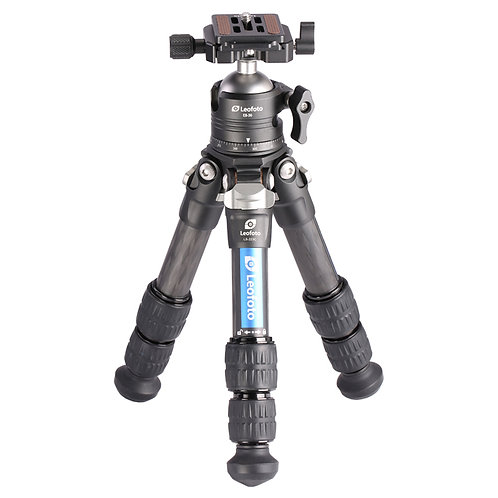 Leofoto LS-223C+EB-36 22mm 3 Section Compact Tripod with Ball Head