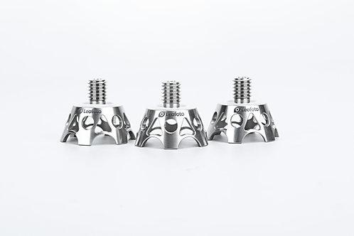 Leofoto TF-02 Titanium Tripod Foot Claws Set of 3